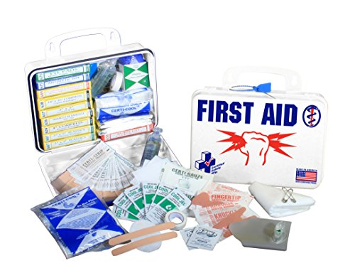 Certified Safety K607-047 16PW Electricians First Aid Kit in Poly White