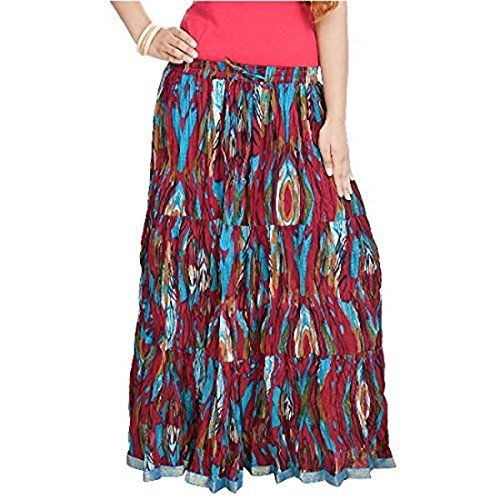 Multi Skirt Multi Cotton Floral Women Ethnic Pure SMSKT562 BXwYAHq