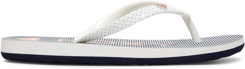 M/ädchen 8-16 Flip-Flops Blau Sandalen EU 35 Roxy Pebbles
