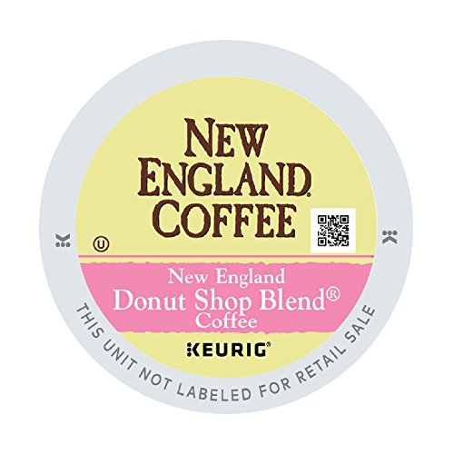 New England Coffee New England Donut Shop Blend, 12 count (pack of 6)