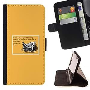 - LIFE DEATH DOING QUOTE LOVE YOU WHAT - - Prima caja de la PU billetera de cuero con ranuras para tarjetas, efectivo desmontable correa para l Funny HouseFOR LG G2 D800