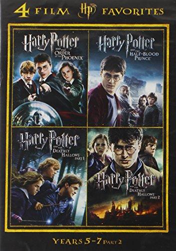 4 Film Favorites: Harry Potter Years 5-7 (4FF)