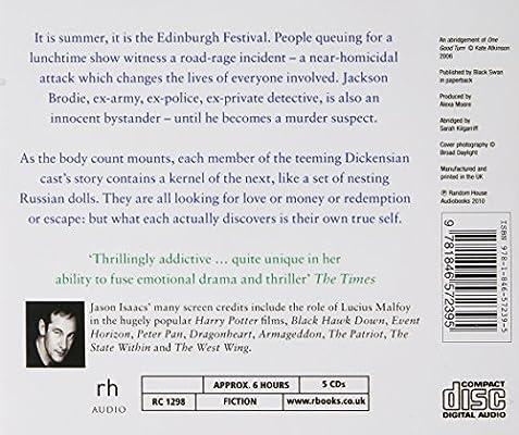 One Good Turn: (Jackson Brodie): Kate Atkinson: Amazon com