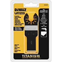 Deals on DEWALT Oscillating Tool Blade Titanium