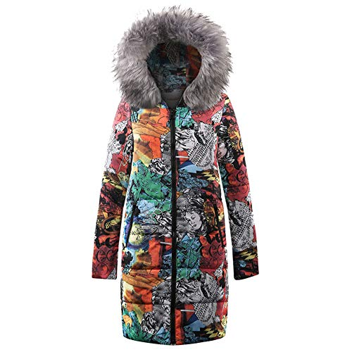 Limsea Womens Coat Quilted Jacket Outwear Winter Long