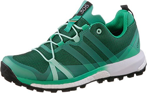 Adidas Vrouwen Terrex Agravic Gtx W Wanderschuhe Groen (verde Verbas / Verses / Ftwbla)
