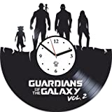 Cheap Kovides Guardians of the Galaxy 2 Hero Best Gift For Him Vinyl Wall Clock Home Decor, Decoration Living Room Inspirational Comics Marvel DC Movie, Vinyl Wall Clock with Silent Mechanism, Wall Sticker