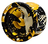 Yomega Prodigy – Pro Level Non Responsive Aluminum Metal YoYo with Wide Gap and Dif-e-yo KonKave roller bearing for advanced tricks! (Colors may vary)