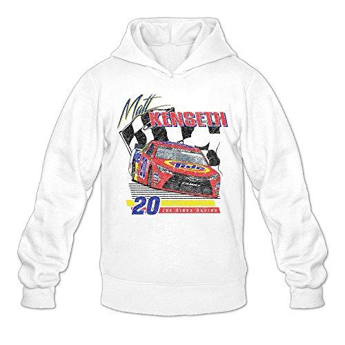 Men's Brad Keselowski Checkered Flag Miller Lite 2016 Darlington Throwback Retro Car Cool Hoodies Sweatshirts