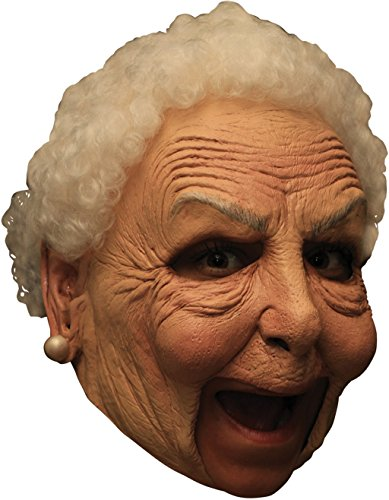 Little Old Nanny Deluxe Chinless Mask