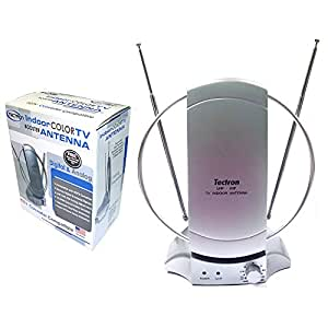 Tv Indoor Antenna-HDTV Compatible VHF and UHF Amplifier