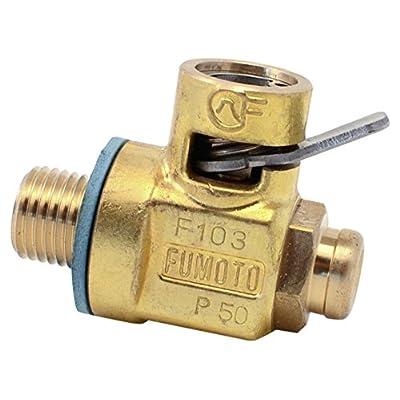Fumoto F103S Valve W/Short Nipple M12-1.25 Threads: Automotive