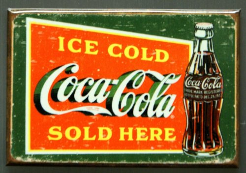 Coca-Cola Ice Cold Green Magnet