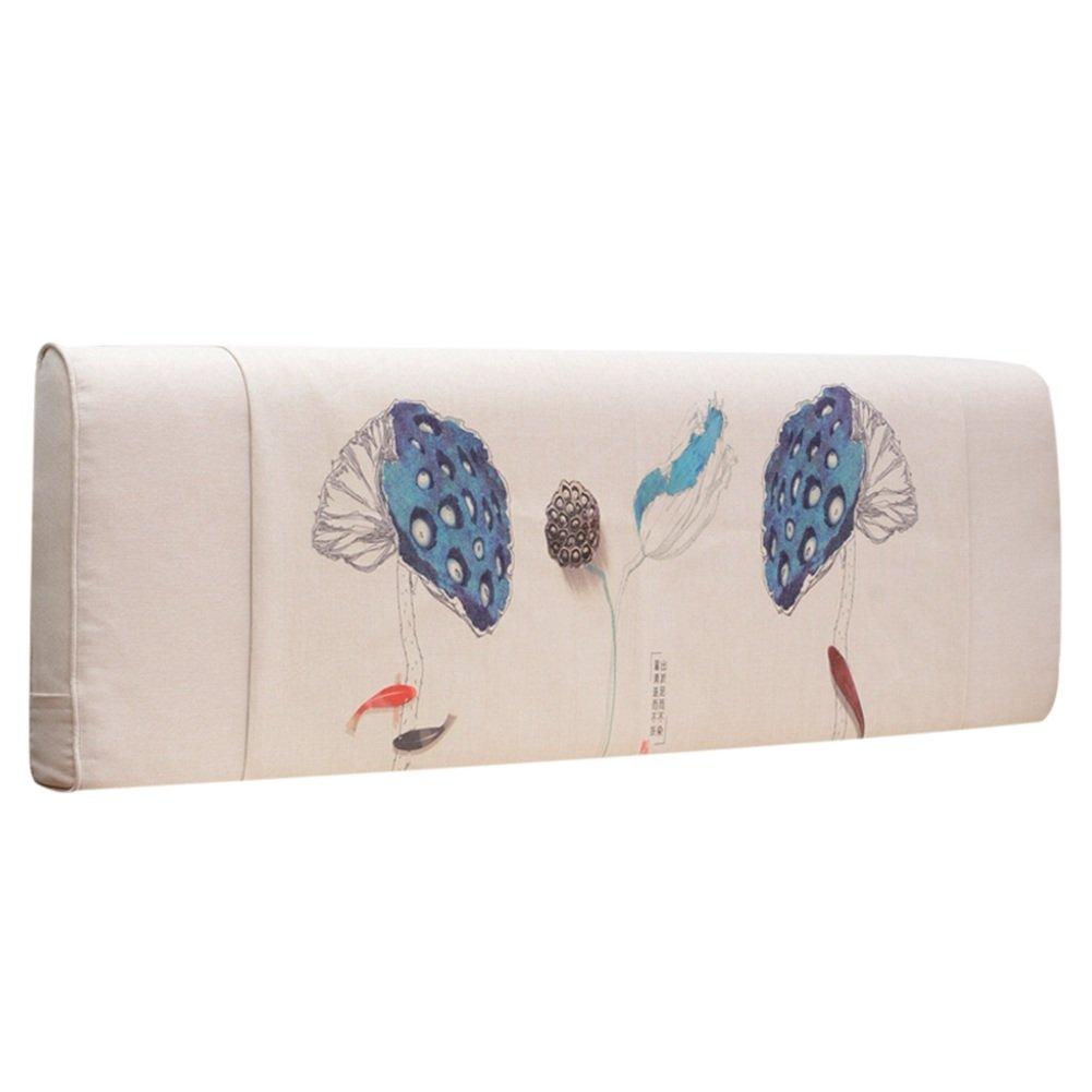 GXY Kein Bett Soft Pack Tatami Einfachen Stoff Bett Kissen Kissen Große Rückenkissen Abnehmbare Waschbare Bettdecke Kissen (Farbe : 1#, größe : 160x10x58cm)