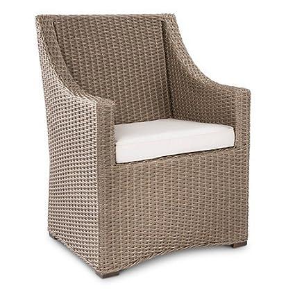 Smith U0026 Hawken Premium Edgewood Wicker Dining Chair