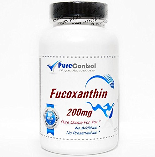 Fucoxanthin 200mg // 200 Capsules // Pure // by PureControl Supplements by PureControl Supplements