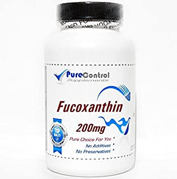 Amazon.com: fucoxanthin 200 mg/100 Cápsulas//Pure//by ...