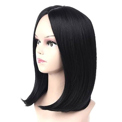 Fancyku Women s Short Syntheyic Straight Wig b406713365
