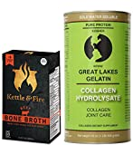 Great Lakes Collagen Hydrolysate Joint Care & Grass Fed Bone Broth Pack