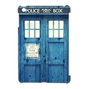 C-EUR Doctor Who TARDIS Police Call Box Pattern 3D Case for iPad Mini