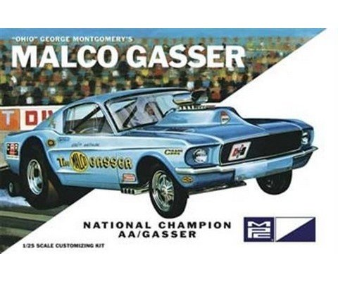 25 Scale 1967 Ohio George Malco Mustang Gasser Model Kit, Multi ()