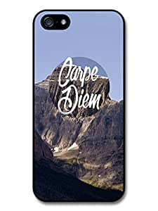 Carpe Diem Quote on Cool Mountain Style Design Case For Iphone 6 Plus 5.5 Inch Cover