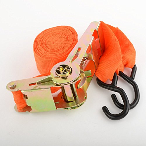 "6 2"" X 20 Ft Ratchet Tie Down Towing Strap Tow Hauling Se..."