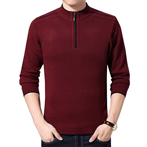 Quarter Zip Cashmere Sweater - 4