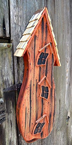 Heartwood 230B Batty Shack Bird House in Redwood Finish