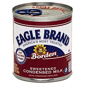 Amazon.com : Borden Eagle Brand Sweetened Condensed Milk, 14 oz (5 ...