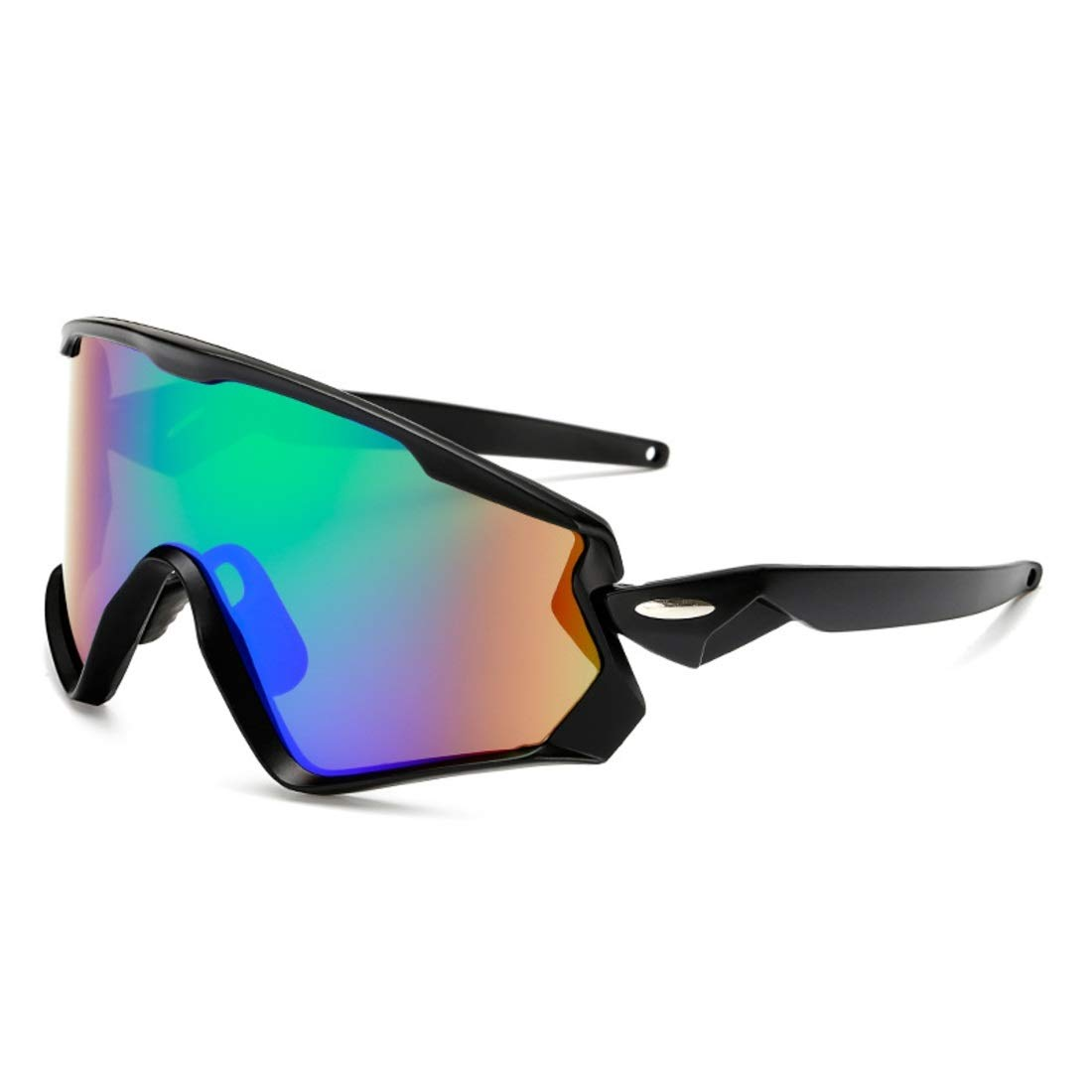 BAOYIT Sports Sunglasses Outdoor Men and Women Sunglasses Riding Wind and Sand Riding Glasses (Color : A) by BAOYIT