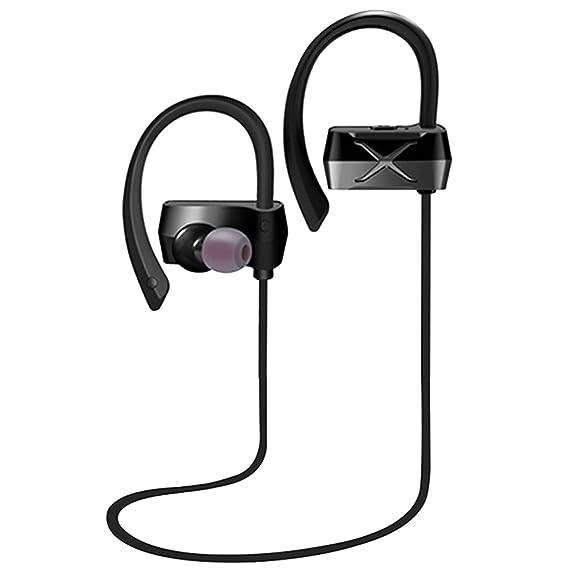 d820cd9fa9b EFFE Y100B Bluetooth Audífonos, incorporados Micrófono Aislamiento de ruido  IPX4 Auriculares deportivos inalámbricos para Iphone