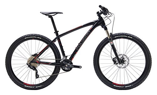 "Polygon Bikes Siskiu 7 Hardtail Mountain Bicycle, Gloss Black, 15""/Small"