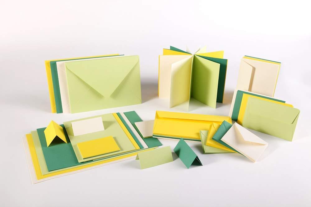 Gris Koala Clairefontaine 5326C Pollen Paquet de 20 Enveloppes 11,4x16,2 cm
