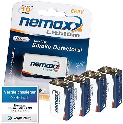 Nemaxx wl2 Funkrauchmelder  4X Rauchmelder