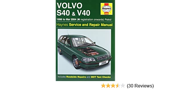 volvo s40 and v40 petrol mark coombs 9781844250769 amazon com books rh amazon com Haynes Manual Pictures Back Lawn Boy 10323 Manual
