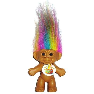 My Lucky RAINBOW Mini Troll Doll: Toys & Games
