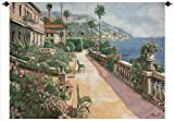 Manual Bella Amalfi Grande Tapestry Wall Hanging, 70 X 50-Inch
