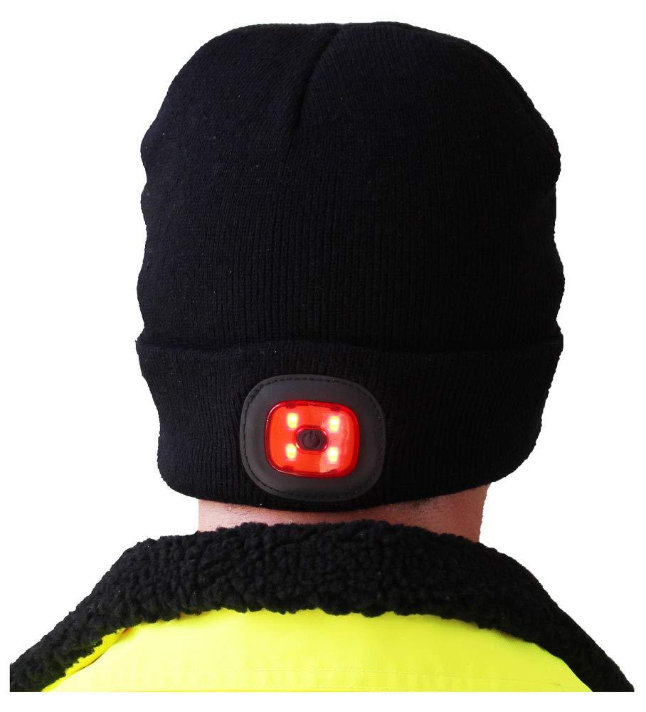 B028BKR Bonnet LED rechargeable