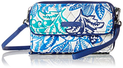 (Vera Bradley RFID All in One Crossbody, Santiago)
