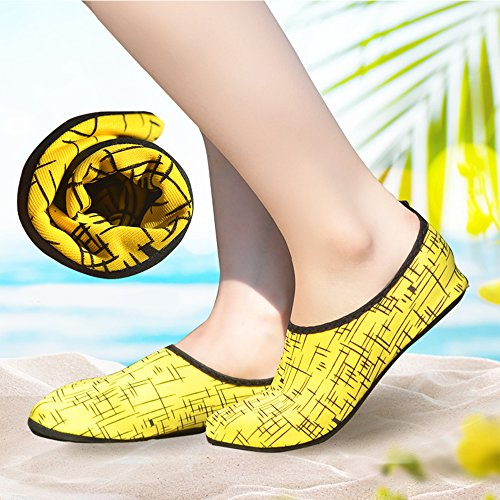 Nclon Aqua Barefoot Unisex Beach Shoes skidding Water Surfing Yoga Swimming Water Skin Breathable A Anti Socks 0q0rR
