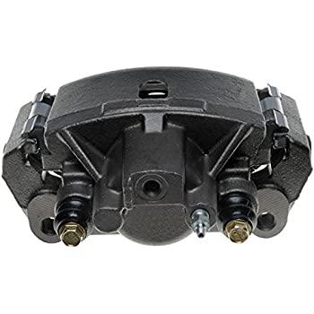 ACDelco 18FR1191 Professional Rear Passenger Side Disc Brake Caliper Assembly without Pads Friction Ready Non-Coated Remanufactured