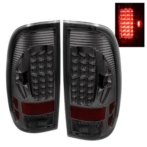 - Spyder Auto ALT-ON-FF15097-LED-SM Ford F150 Styleside/F250/350/450/550 Super Duty Smoke LED Tail Light