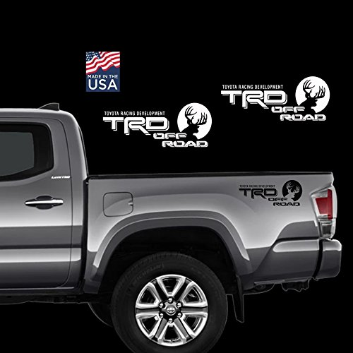Toyota TRD Car Truck SUV Off-Road 4x4 Racing Deer Hunting Tacoma Decal Vinyl Stickers