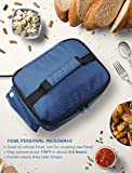 "Personal Portable Oven for Prepared Meals Reheat, Mumba 48W Electric Slow Cooker Food Warmer Oven, Takes 2-3 hours to Max Temperature 176°F, Up to 8.75""W x 6.75""L x 2.5""H Container Applicable"