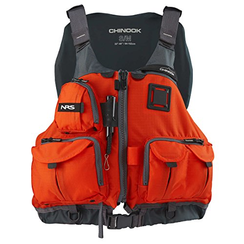 NRS Chinook Fishing PFD Orange L/XL