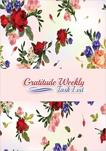 Gratitude Weekly Task List Productivity Schedule Diary At