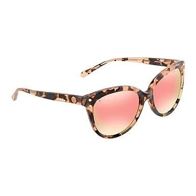 64ce649b2b4 Michael Kors Women s 0MK2045 55mm Pink Tortoise Rose Gold Mirror Polar One  Size