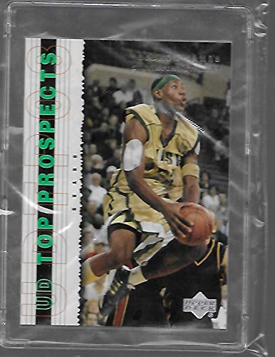 Lebron James 2003 Upper Deck Basketball Top Prospect Rookie Card # 3 - St. Vincents St. Marys High School - Stored in a Protective Plastic Display Case!!