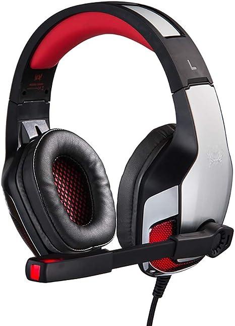 BAIYI Auriculares Profesionales con Cable para Juegos con ...